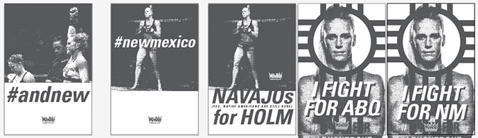 Holly Holm Poster Designs