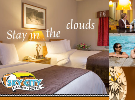 Sky City Casino Hotel room direct mail
