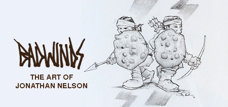 Badwinds: The Art of Jonathan Nelson web banner