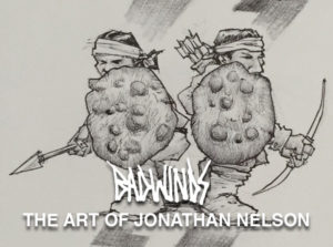 Badwinds: The Art of Jonathan Nelson graphic