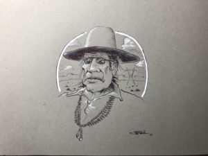 Untitled (Diné Man and his Hat)