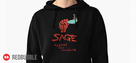 Sage Against the Machine design