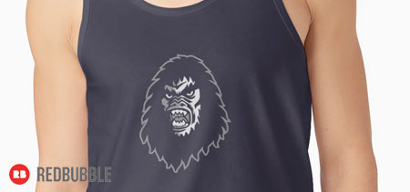 Squatches mascot on Redbubble