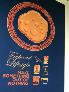 Frybread Lifestyle Poster